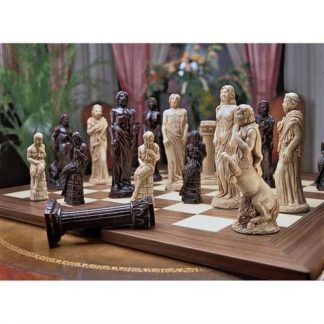 hand crafted chess set