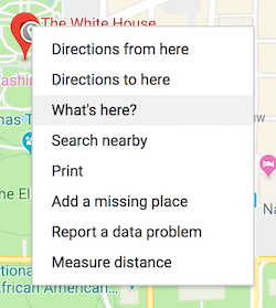 how to find gps coordinates in google maps