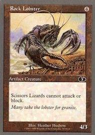 mtg card rock lobster