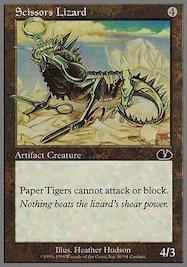 mtg card scissor lizard