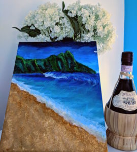 wine and paint date night