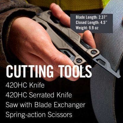 seat belt cutter extension