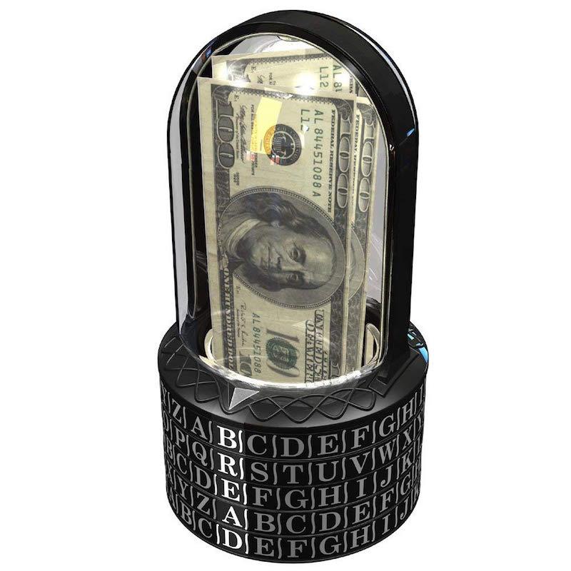puzzle box piggy bank
