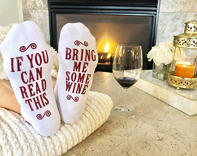 wine apparel white elephant gift