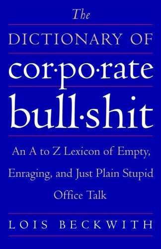 corporate dictionary book cover
