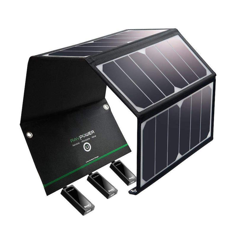 solar panel portable charging station