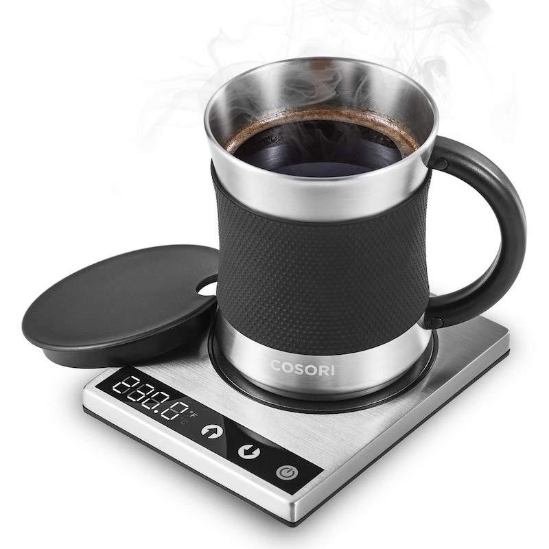 stainless steel coffee mug warmer