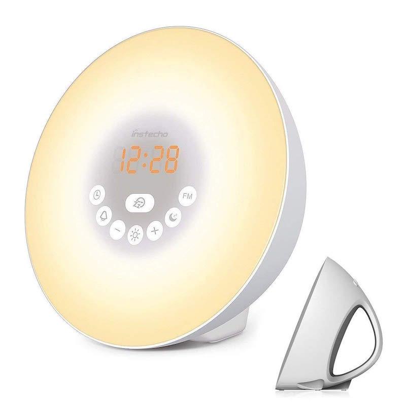 simulated sunrise alarm clock