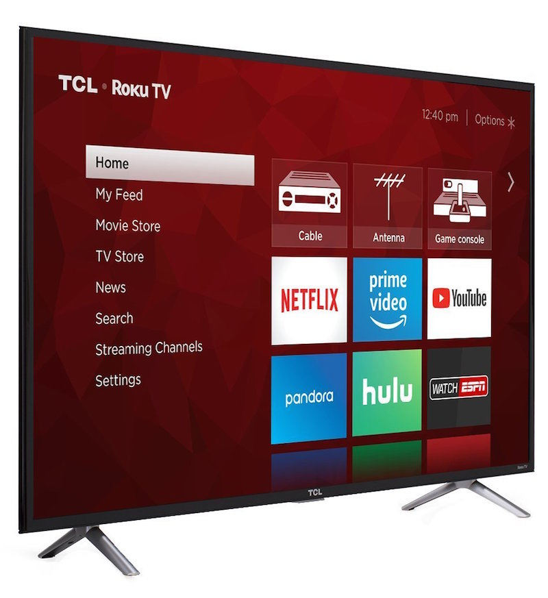 tcl roku app enabled