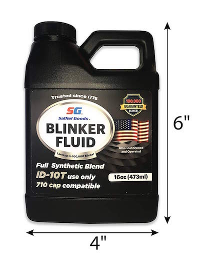 fathers day gag gift blinker fluid container