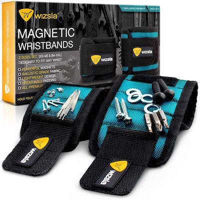 Wiszla magnetic wristband for mechanics