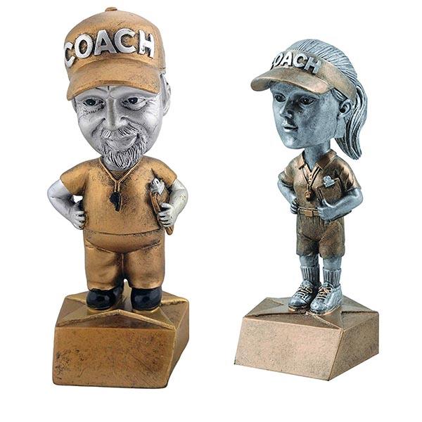 bobble head trophy for coach