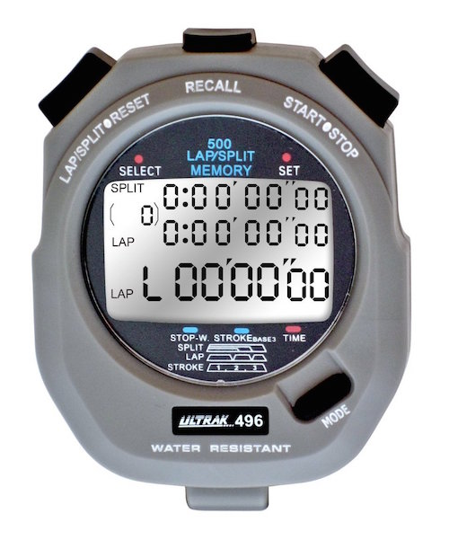 A stopwatch is a useful gift for coaches