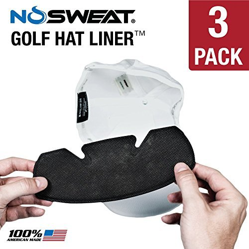 sports hat liner to prevent sweat stains