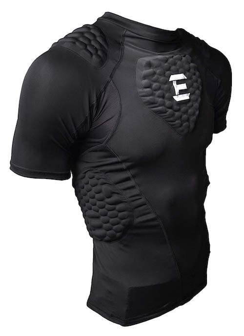 padded sport compression shirt coaches gift idea