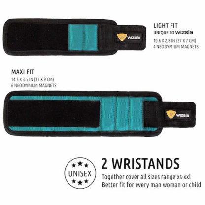 magnetic wristband sizing